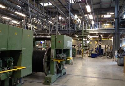 Draka Werk 2, Erweiterung einer Produktionshalle
